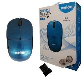 Harga MELON Silence Wireless Mouse รุ่น MM-176 - (สีแดง)