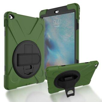 Harga Pirate king Stent + hand strap Drop Case For Apple iPad Air 2 (Army Green) - intl