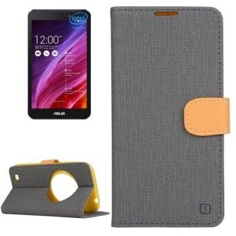 Harga SUNSKY Flip Leather Cover for Asus ZenFone Zoom / ZX551ML (Grey) - intl