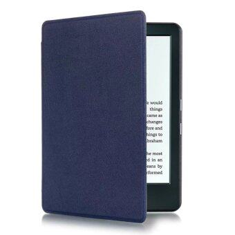 Harga Yika Thin PU Leather Case Cover for Amazon Kindle 8th 2016 (Deep Blue)