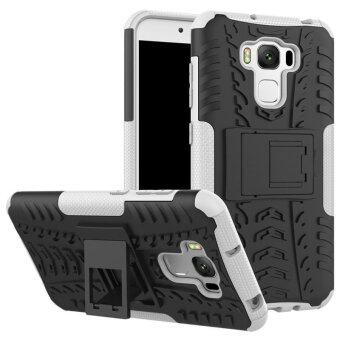 Harga BYT Rugged Armor Dazzle Back Cover Case for Asus Zenfone 3 Max ZC553KL - intl