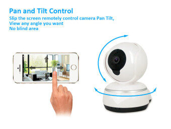 Harga 720P IP Camera Wifi Plug and Play Smart Camera Pan & Tilt V380 App P2P Cloud Two Way Audio Hotspot Camera Wlan Kamera - intl