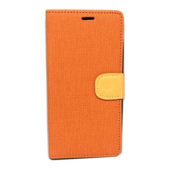 Harga Case Wiko Lenny 3 Folio Case ORANGE