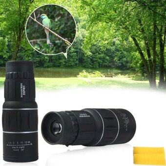 Harga New 16 x52 Dual Focus Zoom Optic Lens Monocular Telescope Binoculars Multi Coating Lenses Dual Focus Optic Lens Day Night Vision - intl