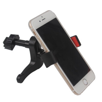 Harga 1Pcs Universal Adjustable 360 Degrees Steering Car Air Vent Mobile Phone Holder Auto Mounts Phone Holder Air Outlet Stand