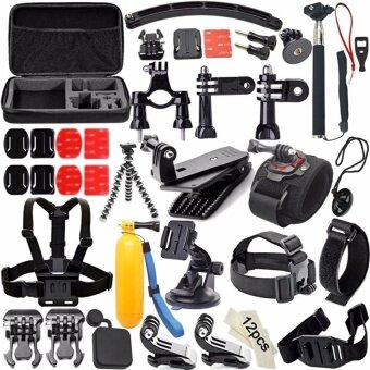 Harga Sports Action Camera Accessories Waterproof Camera Kit for GoproHero4+/3/2/1.SJ CAM Xiaoyi.Sony Action Cam Accessories - intl