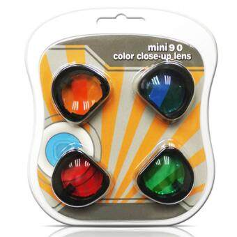 Harga Takashi Special Effect Color Close-up Lens Set for Fujifilm Instax Mini 90 Instant Camera