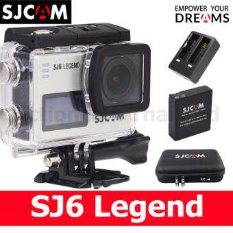Harga SJCAM SJ6 LEGEND 4K 16MP (Silver)+Battery+DualCharger+SCAM Bag