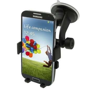 Harga Suction Cup Car Stretch Holder for Samsung Galaxy S IV / i9500 /Other Mobile Phone. Width: 50-75mm - intl