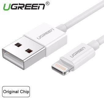 Harga UGREEN MFi Certified 8 Pin Usb Cable for iPhone 6 6s 5s iPad (2m) White - Intl