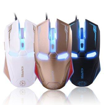 Harga New Iron Man Wireless Gaming Mouse with Mute Button - intl