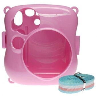Harga Takashi Hard Plastic Protective Case for Fujifilm Mini 25 Instant Camera (Pink)