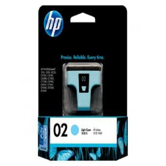 Harga HP C8774WA HP 02 AP LIGHT CYAN INK CARTRIDGE