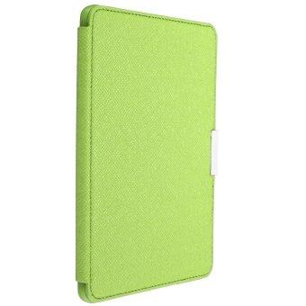 Harga PU Leather Smart Flip Cover for Amazon Kindle Paperwhite (Green)