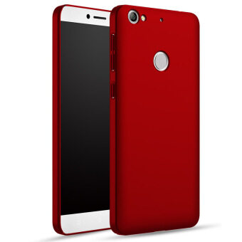 Harga Leather Ultra Slim Soft Back Shell Cover Case For Letv Le 1s / 1 S X500 5.5 Inch (Color:Red)