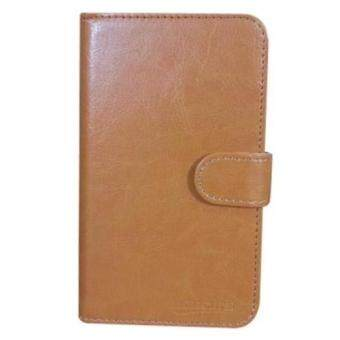 Harga LG Optimus L9 P768 Book Cover Case (Light Brown)