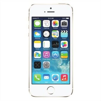 Import Apple iPhone5S 4G 16GB (Gold) Free Case+ScreenProtector
