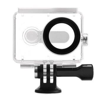 (IMPORT) EACHSHOT? 40m Underwater Waterproof Protective HousingCase For Xiaomi Yi Action Camera (White) - Intl