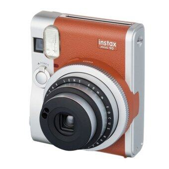 Instax Mini 90 combo set_Brown (ฟรี! Film MONOCROME 10 Sheets + Film BLANK 10 Sheets + STRAP + PHOTO FRAME)