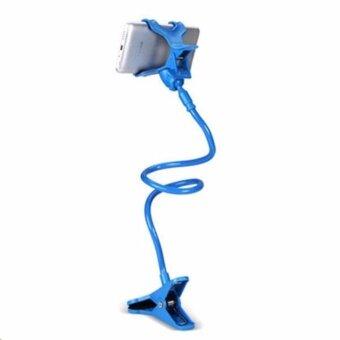 ขาจับมือถือ ที่หนีบสมาร์โฟน iphone samsuang แท่นวางไอโฟนแบบหนีบ(สีฟ้า) - 2