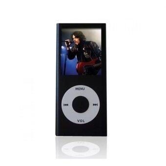 Harga iPod Mp3 Player Mp4 Player+Free 8GB Miro Card+Free Earphone (Black)- intl