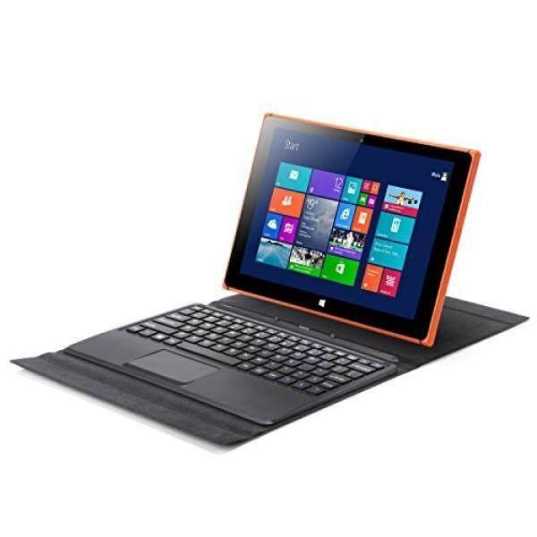 iRULU Walknbook 2 TabletLaptop 2-in-1 Windows 10 Notebook & Computer With Detachable Keyboard Intel Quad Core Processor Perfect For Work Games & Entertainment 2+32 GB Storage Orange