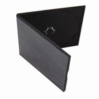 IS กล่องใส่แผ่น CD PP 100 ชิ้น (สีดำ)