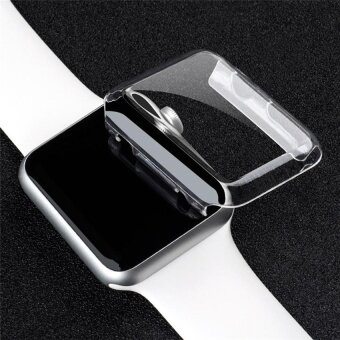 Ishowmall Slim Full Body PC Hard Case Cover Screen Protector forApple Watch IWatch Series 2 38mm - intl