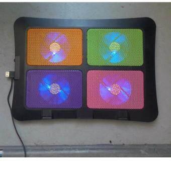 IT Cooler Pad พัดลมระบายความร้อนโน๊ตบุ๊ค รุ่นLXN60 (สีดำ)