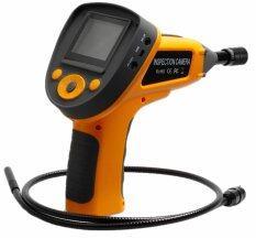 ITandHome กล้องงู ตรวจที่แคบ Snake Camera Borescope ส่องเครื่องยนต์ จอ 2.4 นิ้ว กันน้ำ - สีส้ม