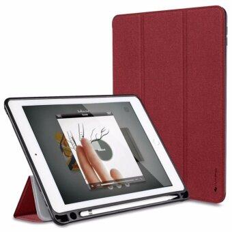 iVAPO งานแท้ เคส iPad Pro 10.5\ มีช่องเสียบปากกา สีแดง
