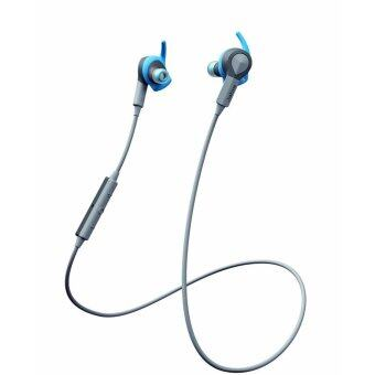 Jabra Sport Coach Wireless Bluetooth Earbuds for Cross-Training - Retail Packaging [Blue] - intl