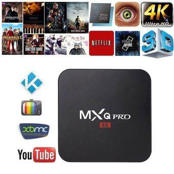 jaywog MXQ Pro Amlogic S905 Quard Core Tv Box Android 5.1 Smart TVBox 1080p HDMI 4k Streaming TV Box,UK Plug