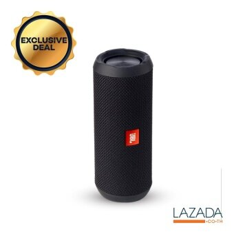 JBL Flip 3 Portable บลูทูธ Speaker With Mic รุ่น Flip 3 ( Black )