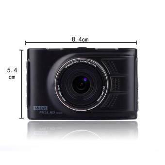 JC Gadget กล้องติดรถยนต์ รุ่น G60 WDR แพ็คคู่ (สีดำ) (image 4)