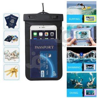 JC Waterproof Bag ซองกันน้ำสำหรับใส่โทรศัพท์มือถือ ทัชสกรีน TouchScreen + สายคล้องคอ ใช้ได้กับ i-Phone Samsung และโทรศัพท์ทุกรุ่น -แถมฟรี ซองกันน้ำสำหรับใส่โทรศัพท์มือถือ ทัชสกรีน+ สายคล้องคอใช้ได้กับ i-Phone Samsung และโทรศัพท์ทุกรุ่น มูลค่า 250 บาท - 5