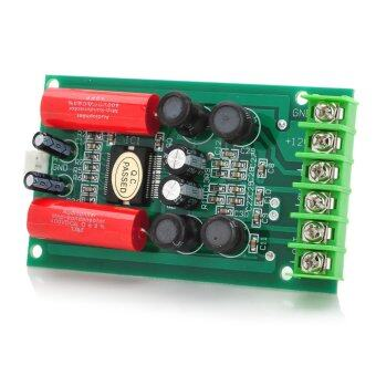 Jtron TA2024 DC 12V Double Track 15W + 15W Car PC Hi-Fi MiniDigital Amplifier Board (Green)