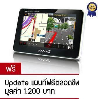 Kamaz GPS นำทาง จอ 4.3\ รุ่น ZUN 420 Update แผนที่ฟรี