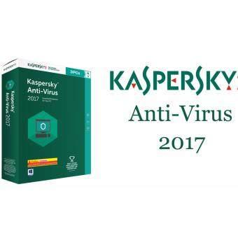 ต้องการขาย Kaspersky Antivirus 2017 (3 PCs) โปรแกรม Antivirus