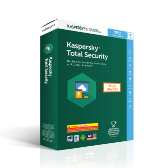 Kaspersky Total Security (1 PC)