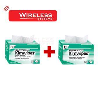 KIMTECH SCIENCE KIMWIPES Delicate Task Wipers พิเศษ Pack คู่ 2กล่อง