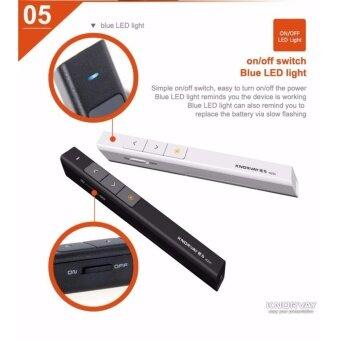 KNORVAY Wireless Presenter with Laser Pointer N26C รีโมทพรีเซนต์ไร้สายพร้อมเลเซอร์ (image 4)