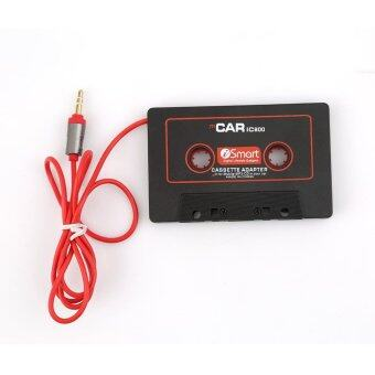 LALANG Car Cassette Tape Stereo Adapter for iPod iPhone MP3/4 AUXCD Player 3.5mm (Black) - intl