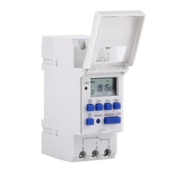 LCD Display Digital Programmable Timer Time Relay Switch (AC/DC24V)- intl