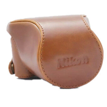 Harga Leather Case Cover Bag for Nikon J5 (Brown)