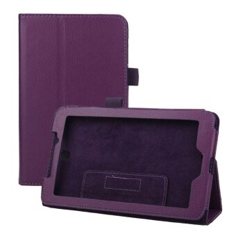 เสนอราคา Leather Case Cover Stand for Acer Iconia Tab 7 A1-713 7' Tablet PCPurple - intl