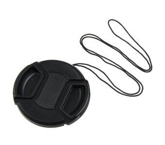 Leegoal Black Universal 67mm Lens Cover Snap on Lens Cap With Cablefor SLR Cameras - intl