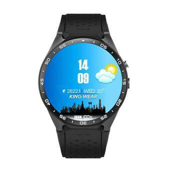leegoal KW88 โทรศัพท์มือถือ 3G WIFI Smartwatch All-in-One นาฬิกาสมาร์ทบลูทู ธ Android 5.1 ซิมการ์ดพร้อม GPS กล้องตรวจสอบอัตราการเต้นหัวใจ Google แผนที่ Google Play