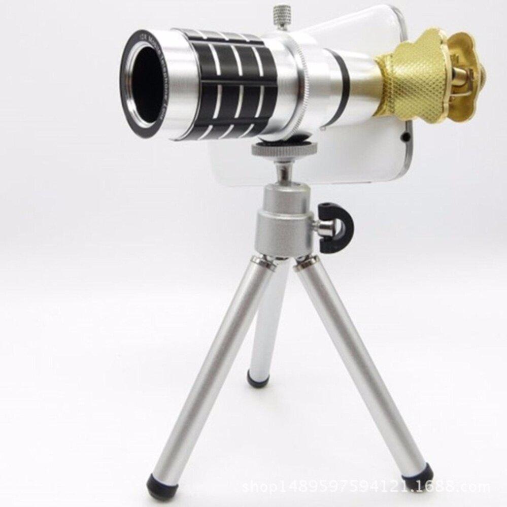 lenซุม12 xออพติคัลซูมภาพแบบแมนนวลโฟกัสเลนส์กรอบมือถือกล้องเลนส์โทรศัพท์(4sshop)