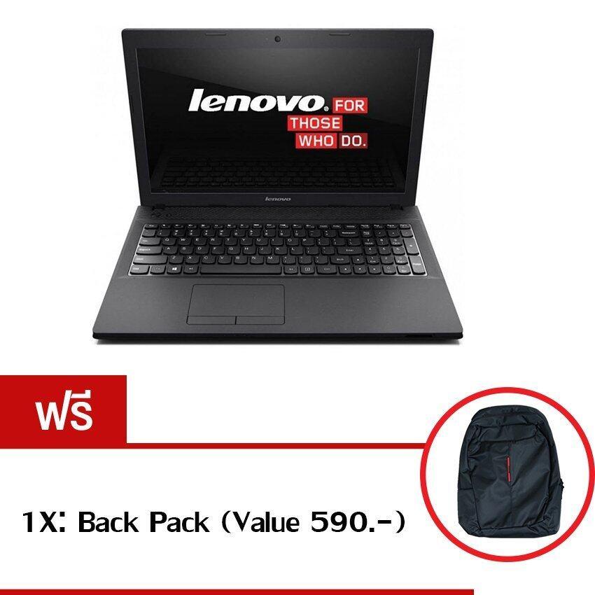 Lenovo IdeaPad 110-15ISK(80UD005NTA) i5-6200U 4GB 1TB R5 M430 2GB Dos 15.6' (Black) ฟรี 1X: Back Pack(Value590.-)